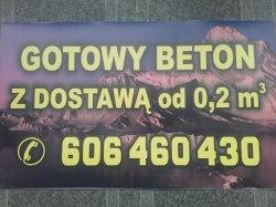 gotowy beton transport od 0,2m3 jelenia gora okolice