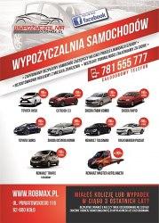 Wypożyczalnia samochodów ROBMAX Koło Konin Turek Kalisz Kutno