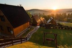 Domek nad jeziorem w Solinie - Noclegi Bieszczady