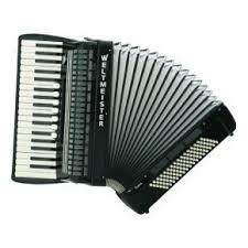 śpiewający akordeonista / również dj