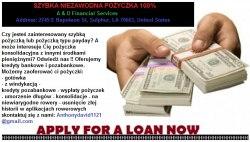 Pilne pożyczki dla firm i osób fizycznych.
